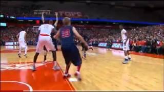Detroit's Doug Anderson serves up six huge dunks against Syracuse Video