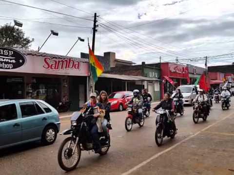 Caaguazú en tercer lugar en cantidad de motos en Paraguay