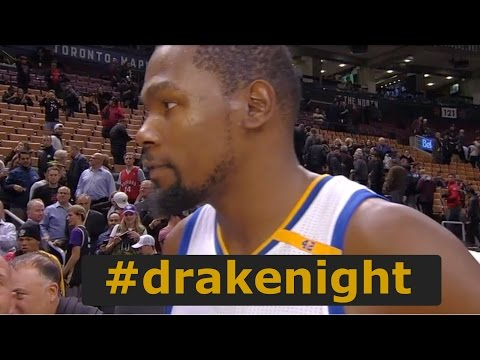 a6f48bcc5388 Kevin Durant on Drake Night