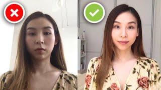 How To Look Good On Video Calls - Zoom, FaceTime, Skype 👩💻 screenshot 3