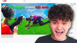 Reacting to Players Eliminating me in Fortnite...(Mongraal, Myth)