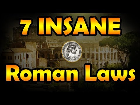 7 Ancient Roman Laws That Were Insane - Rome History