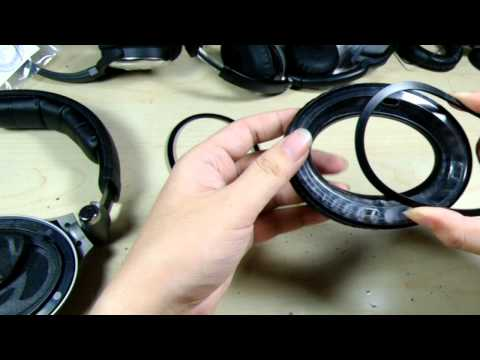 How to apply UltraCushion Replacement earpads for Sennheiser® PXC 450 headphones