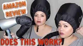 AMAZON REVIEW - HAIR DRYER BONNET
