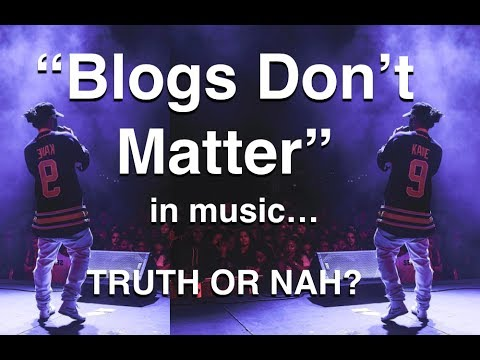 Blogs Don't Matter? [Russ vs The Music Blogosphere]