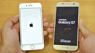 iPhone 7 vs Samsung Galaxy S7 - Speed Test! (4K)