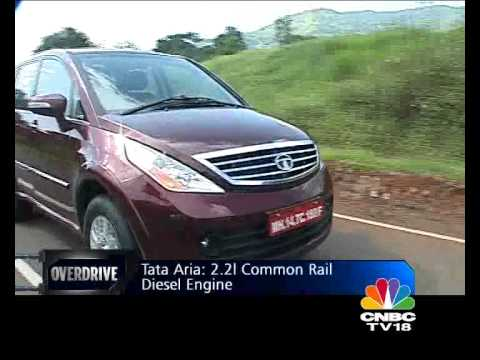 Tata Aria on OVERDRIVE