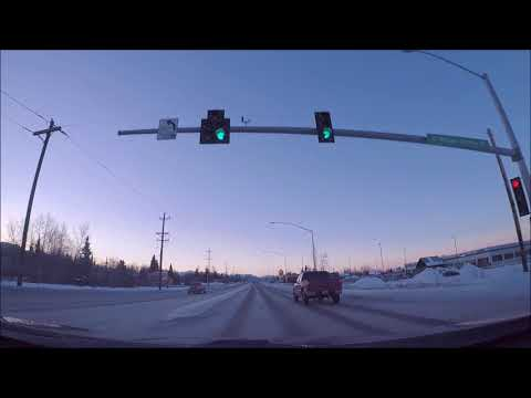 ALASKA DRIVE - Anchorage Errands - February 3rd 2018