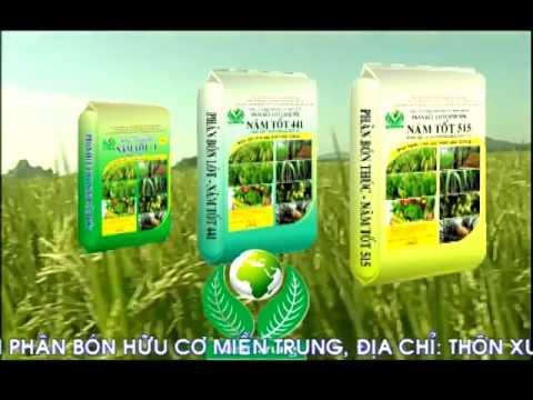 Phân bón hữu cơ vi sinh năm tốt - Sản phẩm KHCN