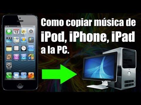 Como copiar musica de iPod iPhone iPad a PC ¡GRATIS! (Tutorial Shpod)