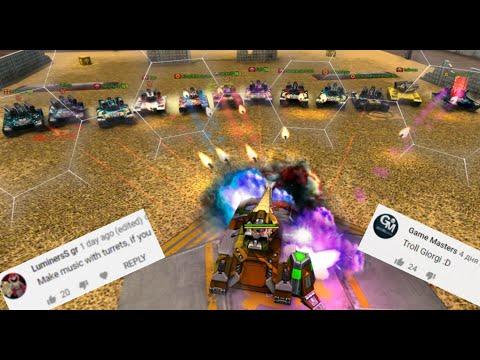 1 Titan Vs 12 Striker?! Challenges Video #54 - Tanki Online!
