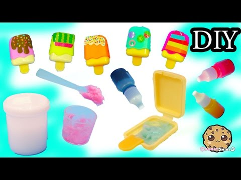 Thumbnail: Make Your Own Ice Cream Lip Gloss Do It Yourself Maker Playset with Color + Glitter - Cookieswirlc
