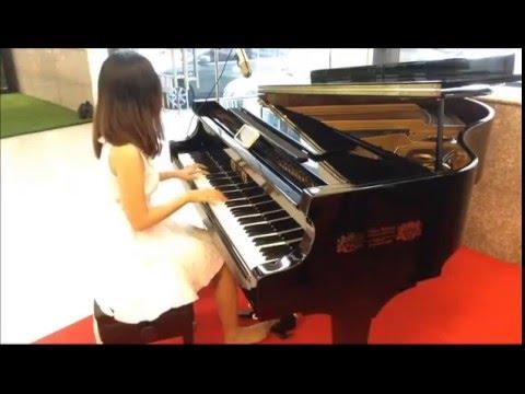 เดี่ยว เปียโน ผู้หญิง (นักร้อง) สากล งานแต่ง Lover Concerto -Cover โดย www.FineOrawanya.blogspot.com