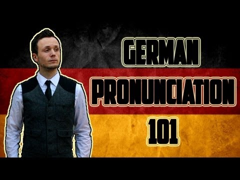 Learn German Pronunciation 101 | Deutsche Betonung 101