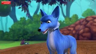 The Blue Fox | Telugu Stories for Kids | Infobells