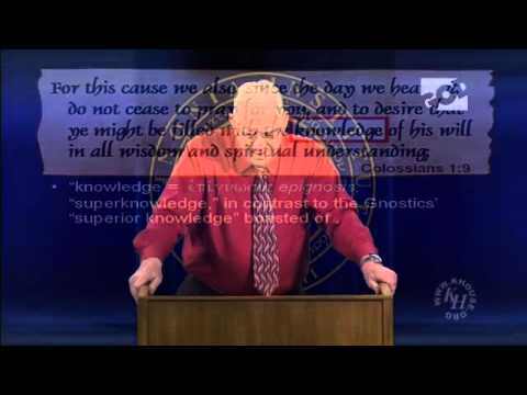 Chuck Missler - The Book of Colossians - Session 2