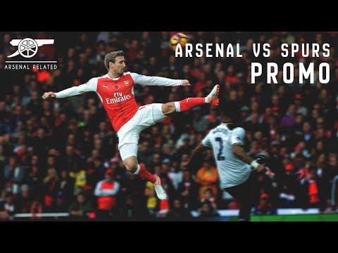 Arsenal vs Tottenham - North London Derby Promo
