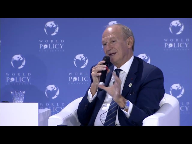 WPC 2018 - Plenary session 2: Conversation with Jean-Paul Agon