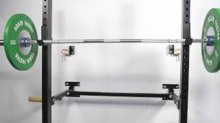 Again Faster Wall-Mounted Folding Power Rack