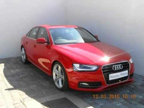 2014 audi a4 1 8 tfsi multi tronic s line auto for sale on auto trader south africa youtube. Black Bedroom Furniture Sets. Home Design Ideas