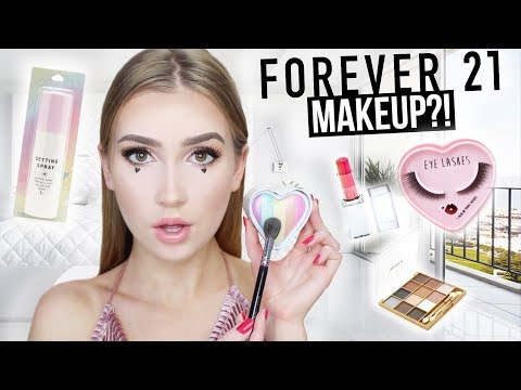FULL FACE TESTING FOREVER 21 MAKEUP !! | Is it any good?