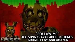 "[Rus sub] Five Nights At Freddy's 3 Song ""Follow Me"" FNAF [перевод]"