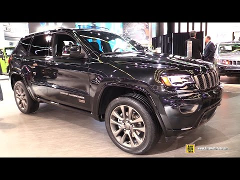 full download 2016 jeep grand cherokee 75th anniversary edition exterior and interior walkaround. Black Bedroom Furniture Sets. Home Design Ideas