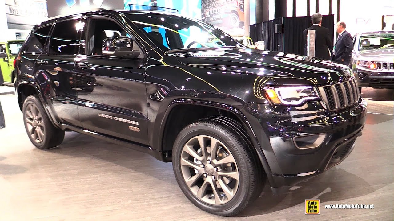 2016 Jeep Grand Cherokee 75th Anniversary Edition Exterior And Interior Walkaround
