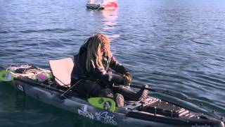 Feature Video - Andorja World Record - Greenland Shark by Kayak!(Joel Abrahamsson from Sweden takes fishing to adventurous new heights in Andörja, Norway. Watch as Joel lands, and releases, the biggest fish every caught ..., 2014-10-31T18:51:46.000Z)