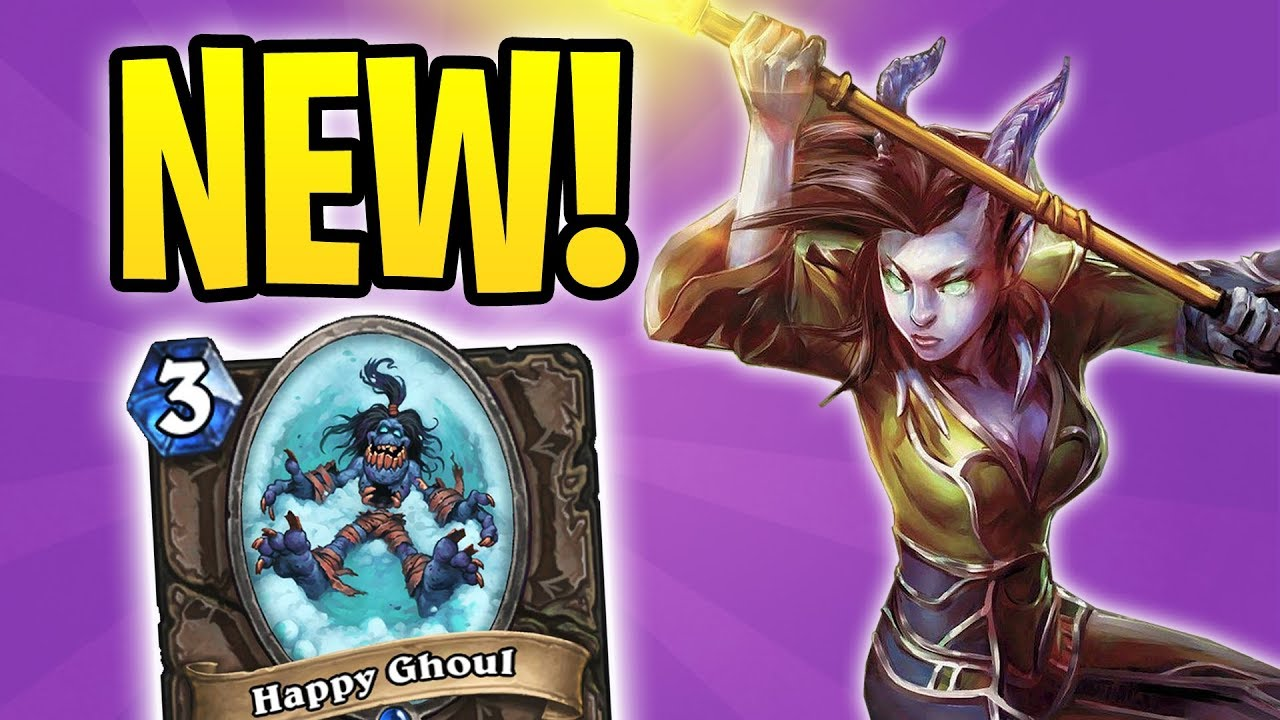 New Zoolock with LIGHTWARDEN?! | HEAL ZOO WARLOCK | The Witchwood | Hearthstone