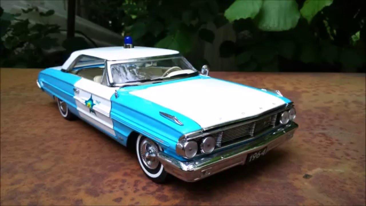Ford Galaxy 1964 Police 1 18