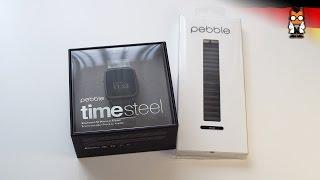 Pebble Time Steel Test: Zu wenig & zu teuer [deutsch]