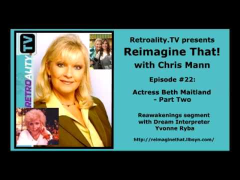 """Reimagine That!"" ep 22: Beth Maitland (pt 2 of 2) on Jeanne Cooper, Jess Walton & Brenda Dickson"