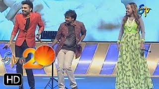 Mallikarjun,Bhargavi Pillai Performance - Joramochindi Song in Anantapur ETV @ 20 Celebrations