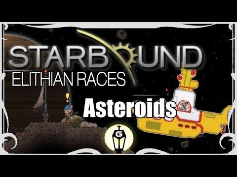Asteroids   Starbound 1 3 Elithian Races Mod Playthrough Ep 18