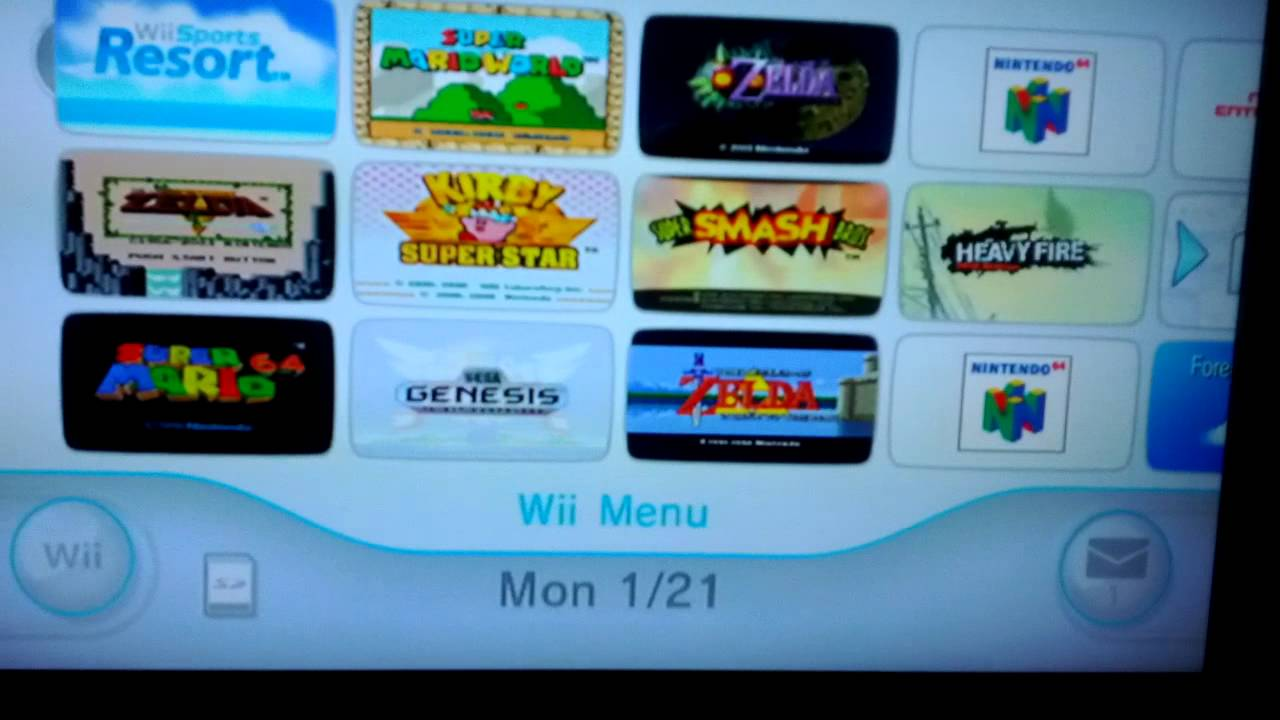 Nintendo Wii System Update Features Amazon Instant Video App
