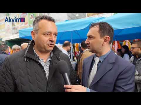 Türkiye'nin İlk Tarım Marketi Hedef Tarım Market Açılış Töreni