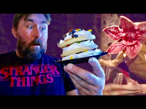 Stranger Things Maze at Halloween Horror Nights Hollywood - Walk Thru & NEW Limited Edition Treats