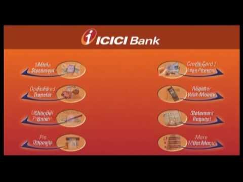 Transfer Funds at ICICI Bank ATMs