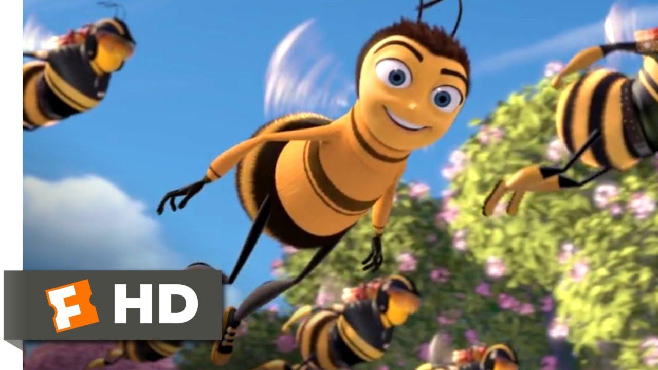 Bee Movie 2007 Pollen Power Scene 1 10 Movieclips Youtube