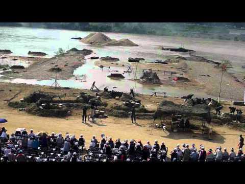 Re-enactment of the 1950 Nakdong River Battle