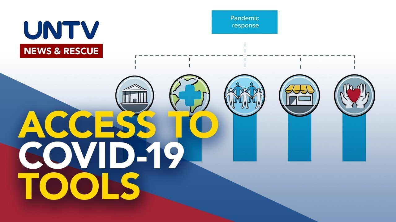 WHO urged countries to join  Access to COVID-19 Tools