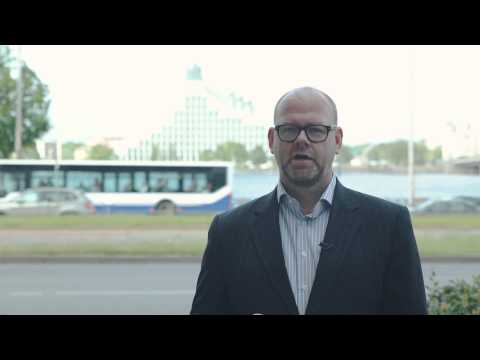 Arnis Kākulis, Director of the Baltic Region for AECOM, President of AmCham Latvia