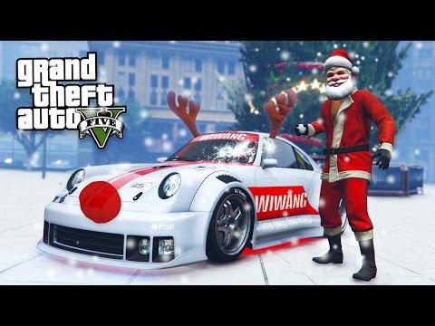 GTA 5 CHRISTMAS DLC UPDATE - SNOW, SNOWBALL FIGHTS & NEW PFISTER COMET RETRO CUSTOM!! (GTA 5 DLC)