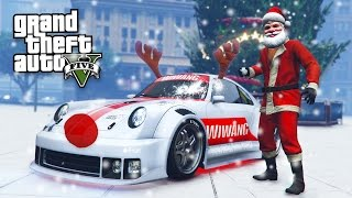 GTA 5 CHRISTMAS DLC UPDATE - SNOW, SNOWBALL FIGHTS & NEW PFISTER COMET RETRO CUSTOM!! (GTA 5 DLC)