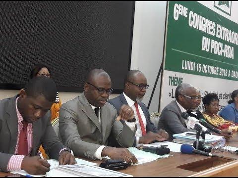 Conférence de presse des avocats du PDCI-RDA