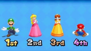 Mario Party: Island Tour - All Character Victory Animations