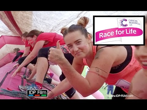 CANCER RESEARCH Pretty Muddy Fun Run Worcester Race Course - RACE FOR LIFE