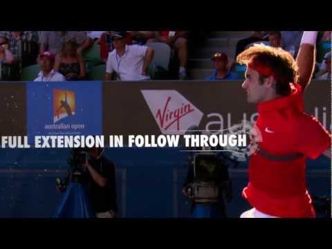 Tennis Tips: One Handed Backhand - Roger Federer and Francesca Schiavone
