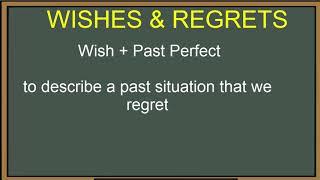 Hızlı GÜNLÜK İNGİLİZCE...WISHES/REGRETS